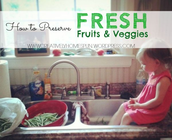 How to Preserve Fresh fruits and veggies! #flashfreeze #farmersmarket #Canning #harvest