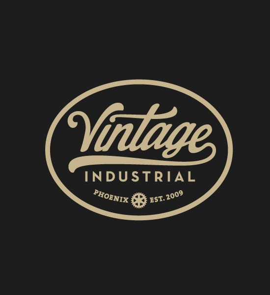 industries thumb 20 most beautiful Retro and vintage logo designs