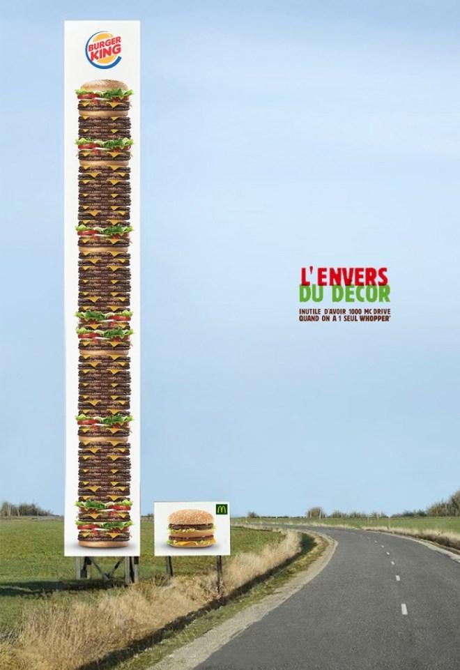 Réponse non officielle de Burger King