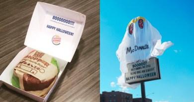 Burger King se déguise en fantôme pour troller McDonald's