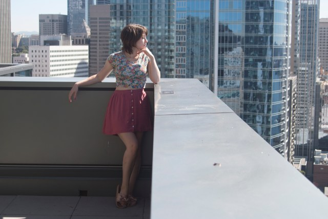 Sunny Seattle Rooftop