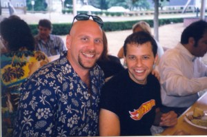 Ken Feinberg & Jon Cryer of Two & a Half Men