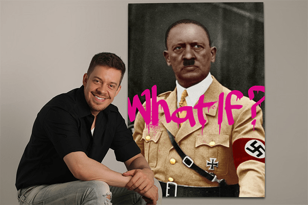 Felipe with Hitler