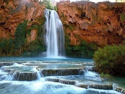 Havasupai Falls in AZ