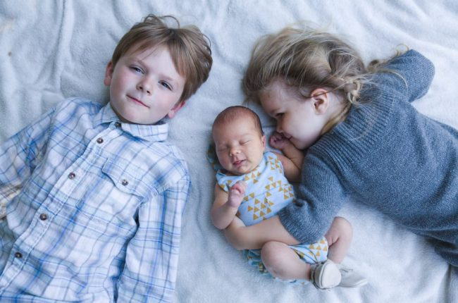 Broth and Sisters | Newborn Baby Photography