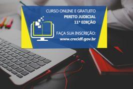Inscrições abertas: curso online de Perito Judicial