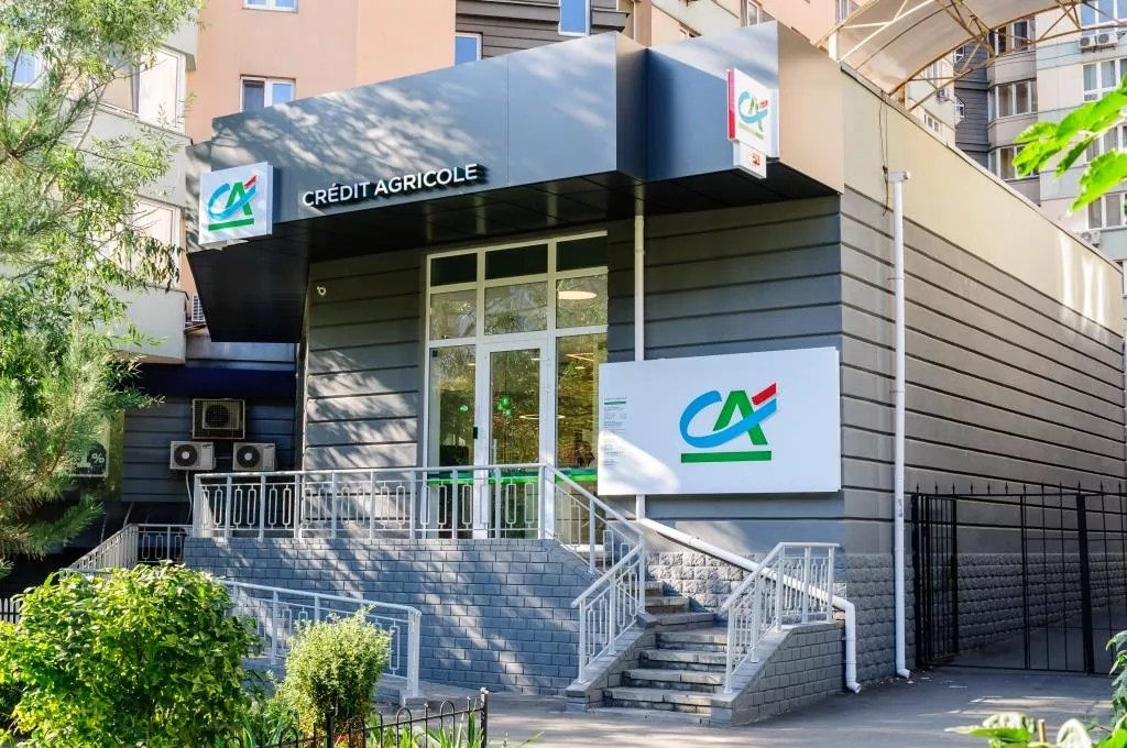 Credit Agricole Bank presented second renewed model branch   Credit     Credit Agricole Bank presented next renewed model branch on the left bank  of the Kyiv  in 4 Raisa Okipna Str  This branch became the second in a  process of