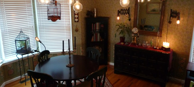 Designing our steampunk dining room