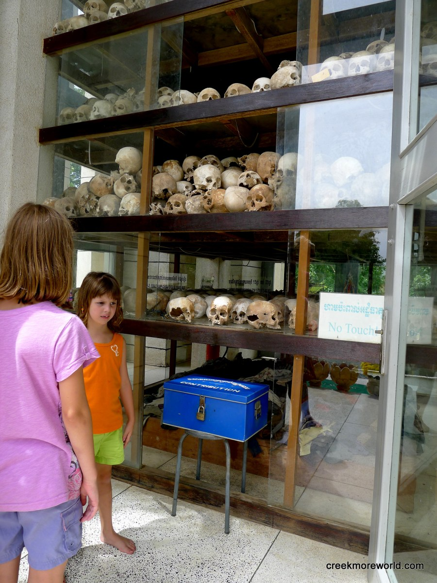 Explaining genocide to our kids: S-21 and the killing fields:  Day 27 Asia - Cambodia