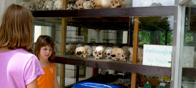 Explaining genocide to our kids: S-21 and the killing fields:  Day 27 Asia – Cambodia
