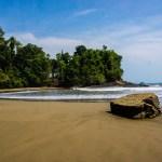 Costa Rica - deserted stretch of beach, Uvita Ballena