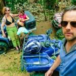 Costa Rica - self-portrait ATV tour Uvita