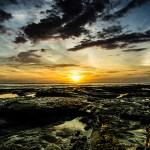 Costa Rica -Sunset on Osa Peninsula, Corcovado State Park