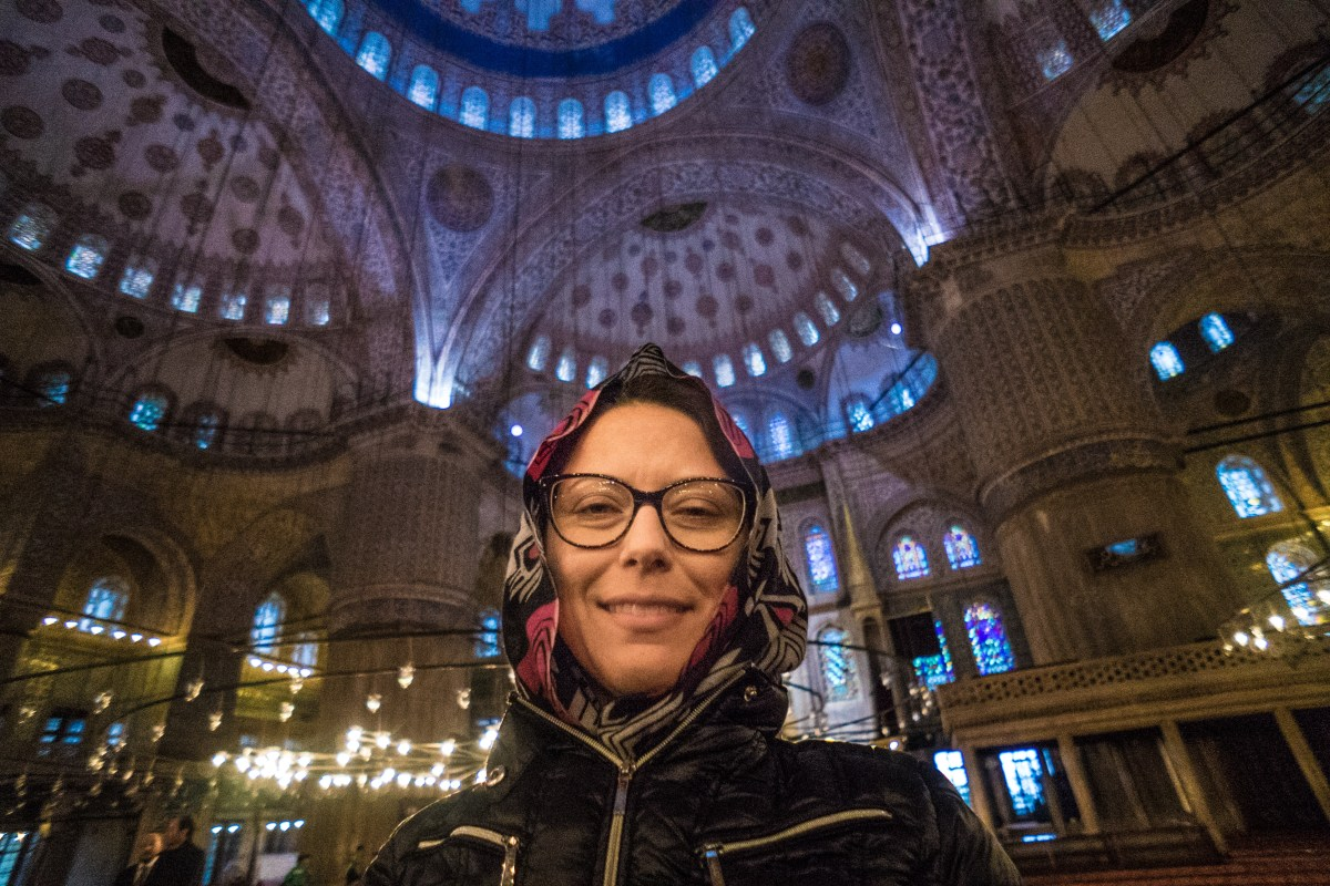 Turkey Day Four: Guessing is half the fun!  Topkapi Palace, Blue Mosque and the cistern Istanbul