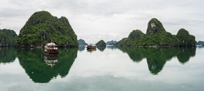 Day 9 Vietnam:  Luck goes our way – a day on Lan Ha bay