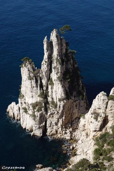 aiguille Eissadon - Stage découverte de l'escalade dans le Parc National des Calanques