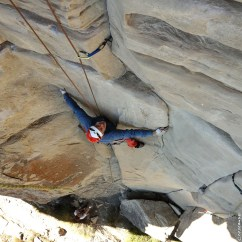 escalade, moniteur, fissure, initiation au trad