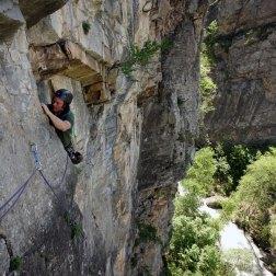 escalade L'argentière, escalade à Embrun, séjour escalade sud