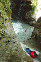 canyoning sportif 05, moniteur de canyon 05