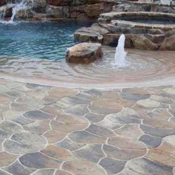 Crescent dc flagstone patios in va md and dc for Pool design northern virginia