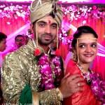 pictures of Ajinkya Rahane marriage with Radhika Dhopvkar