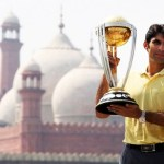 Pictures of ICC Cricket World Cup 2015 trophy