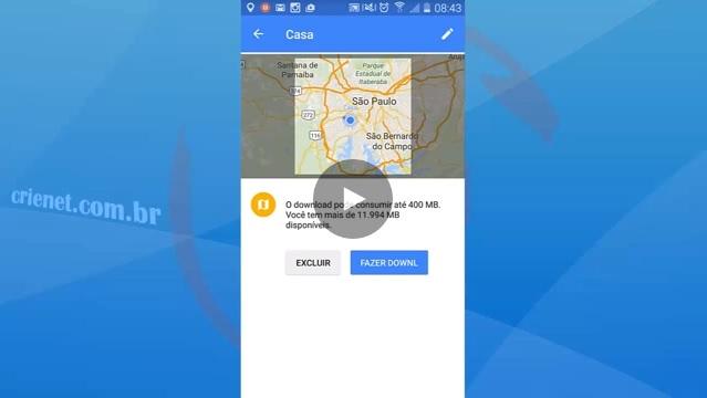 Como baixar e usar o Google Maps offline