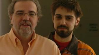 Aliverti y García. Trabajan juntos en una radio.