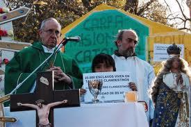 Bergoglio se involucró en la lucha contra la trata de personas.