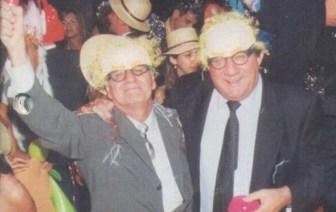 La foto de los discordia: Bustos Fierro y Bugliotti, felices.