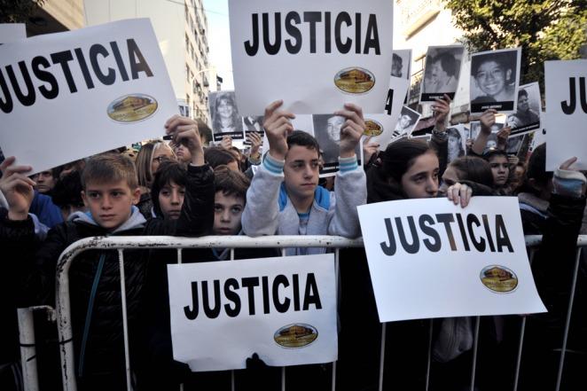 Los familiares exigen justicia.