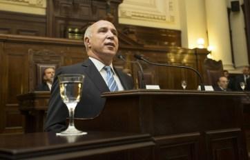 Lorenzetti quedó en el centro de las críticas.