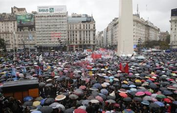 Miles de personas se reunieron para decir basta.