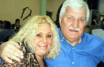 Carrazone y su esposa.