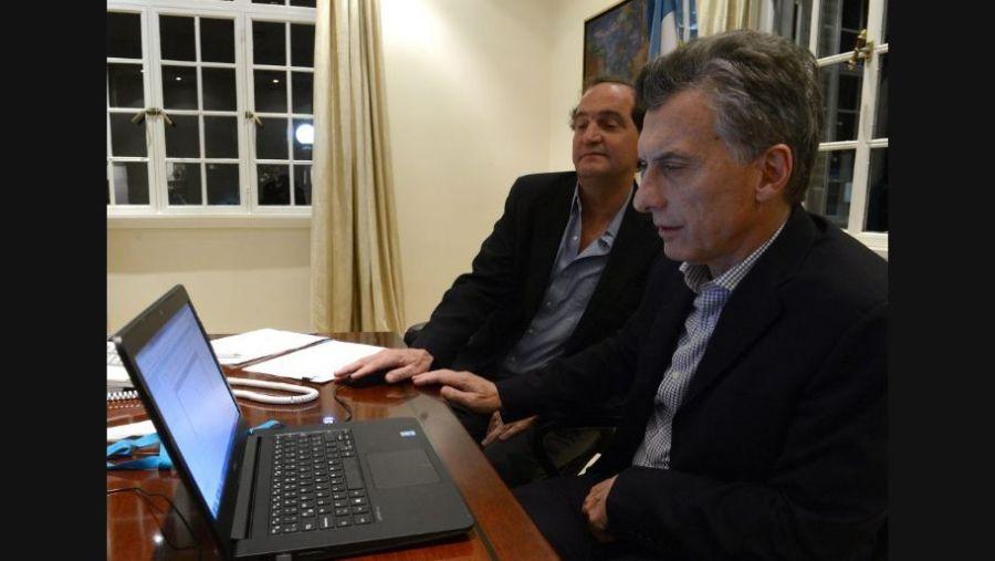 Clusellas y Macri son amigos desde el colegio.