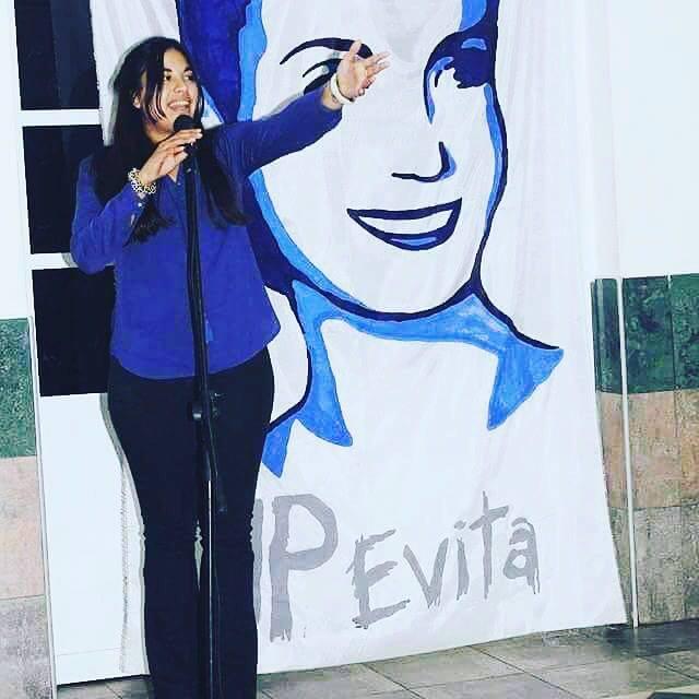 Micaela militaba en el Movimiento Evita.