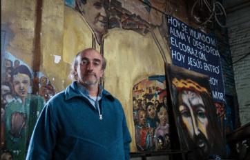 El padre Toto De Vedia.