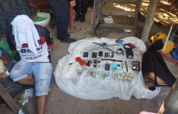 Uno de los detenidos en los allanamientos.