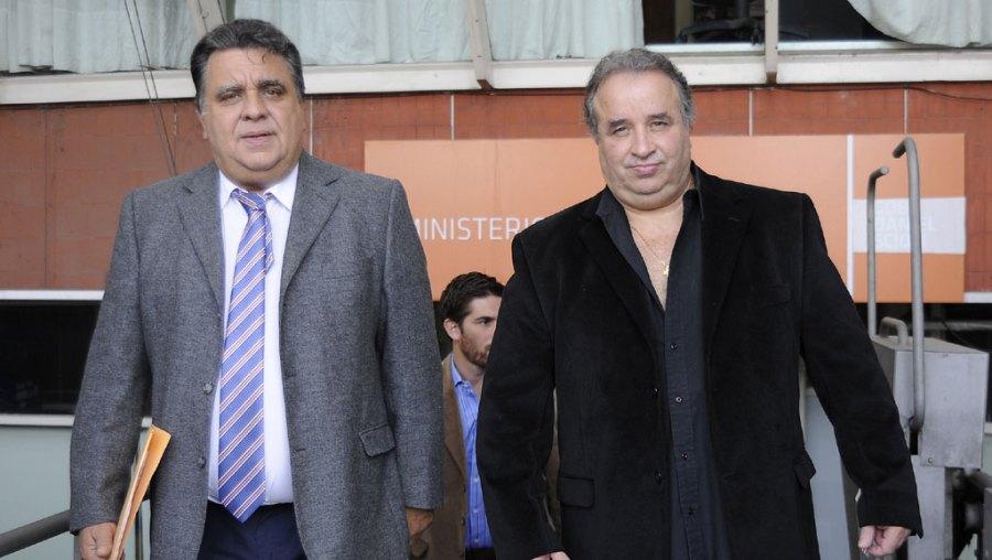 Balcedo, a la derecha, empresario de medios y sindicalista.