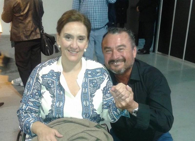 La vicepresidenta Michetti con García.