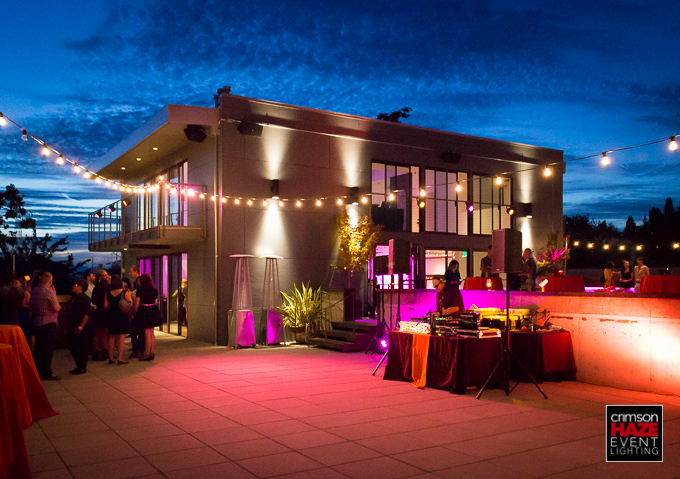 Birthday party, Fremont Foundry Rooftop, August 2015