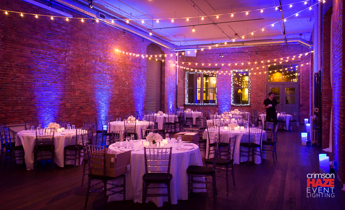 Lighting and photo by Crimson Haze Event Lighting -- http://crimson-haze.com