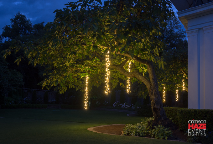 Garland Fairy Lights lights by Crimson Haze Event Lighting
