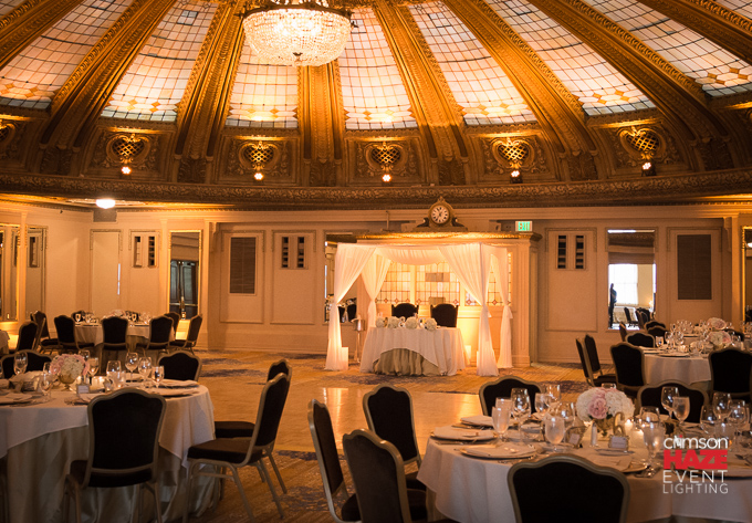 Wedding at Arctic Club Dome Room, April 2016