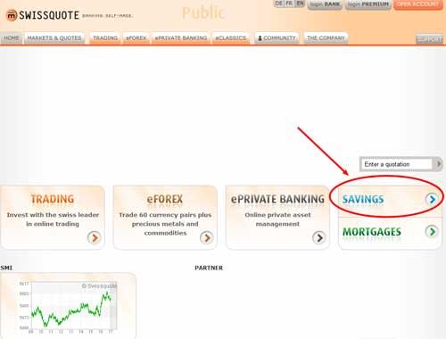 Swissquote Apertura Cuenta 1