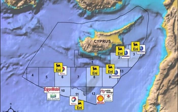 Αποτέλεσμα εικόνας για ελληνοκυπριακή ΑΟΖ