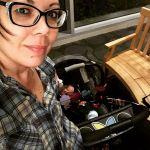 sleeping baby flannel loving mom nerd glasses kinda night sleephellip