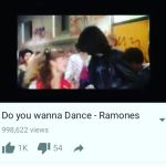 ramones do you wanna dance love