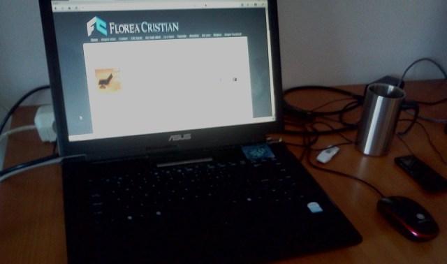 birou de blogger - cristian florea