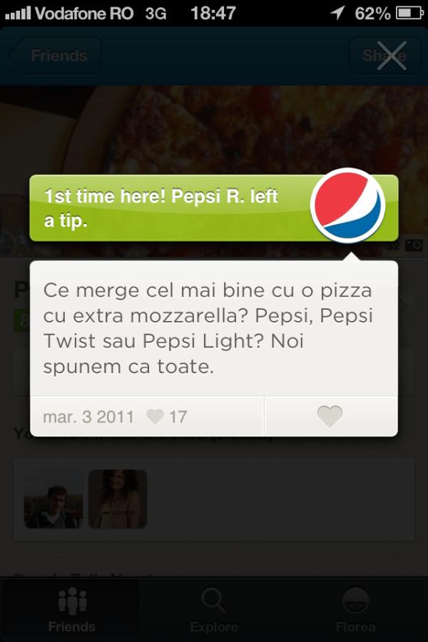 pizza hut - pepsi